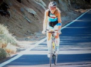 Susana Cordero, triatleta onubense.