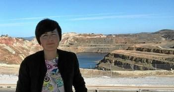 Isabel Lancha, portavoz de IU en el Ayuntamiento de Nerva