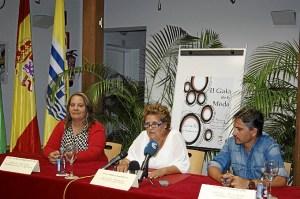 La Alcaldesa junto al Concejal de Comercio y al Concejal de Desarrollo Local
