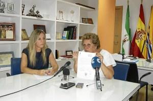La Alcaldesa y la concejala han comparecido en rueda de prensa