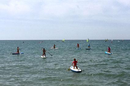 Paddle Surf en Islantilla.