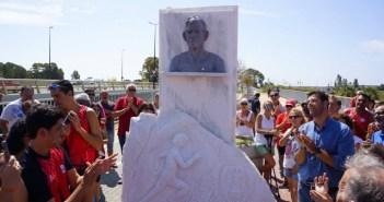 Homenaje en Ayamonte al veterano atleta Julio Fernández.