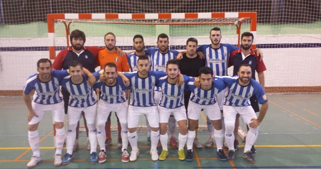 Recreativo Huelva Autoparts de fútbol sala.