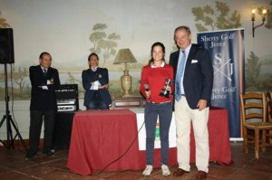 Teresa Toscano, golfista onubense.