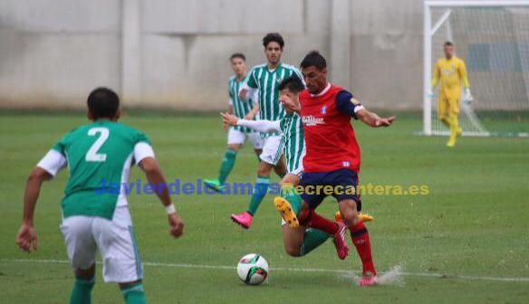 Betis B-Recreativo de Huelva. (Javier del Camps)
