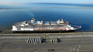 Crucero Rotterdam Muelle Sur Puerto de Huelva