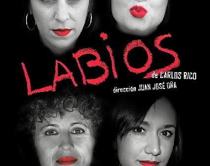 Labios - Cartel web (9 octubre 2015)