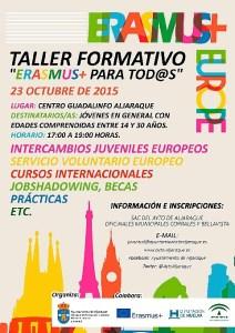 Taller 'Erasmus+ para tod@s'