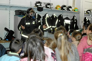 escolares en bomberos 1