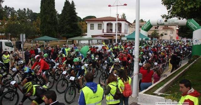 Maratón BTT en Riotinto.