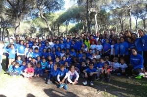 Convivencia del Club Atletismo Arcoiris de San Juan del Puerto.