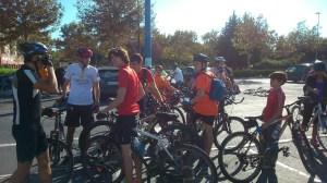 Fiesta de la bici del Club Natación Huelva.