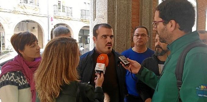 Daniel Hernando, Candidato de Huelva UP-IU Congreso de los Diputados