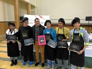 Foto alcalde con los participantes