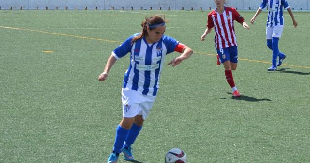 Jenny Benítez, jugadora del Fundación Cajasol Sporting.