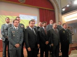premios 20151113 Condecorados Huelva y autoridades