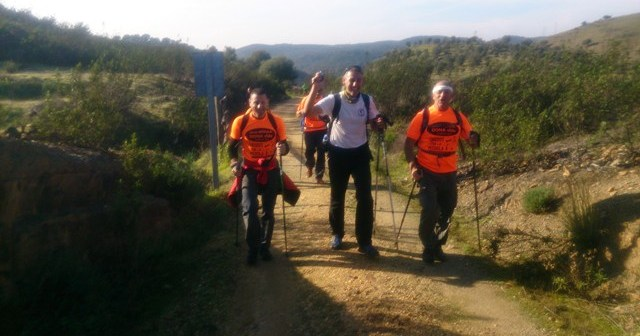 Grupo de senderismo Los del Plomillazo.