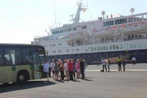 crucero puerto Huelva