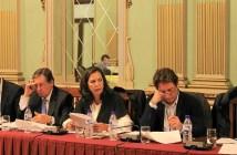 Grupo Municipal de Ciudadanos en el pleno de este miércoles.