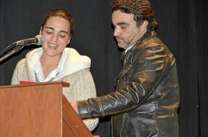 Ana Francisco y Pedro Tavares.