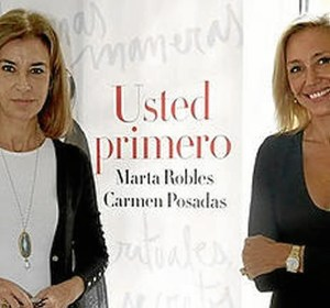 Carmen Posadas y Marta Robles