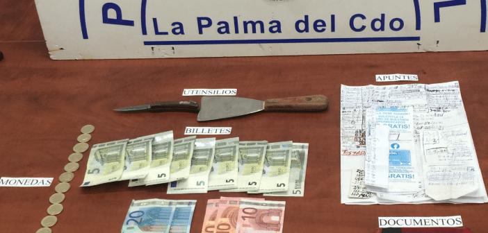 Unidad canina drogas La Palma