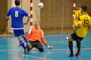 Gol de Illumbe para el CD Sordos Huelva.