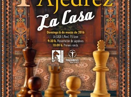 I Open de Ajedrez 'Ciudad de Lepe'.
