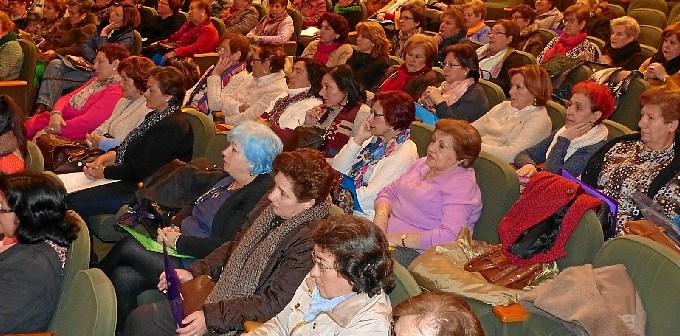 moguer participantes en el encuentro mujeres