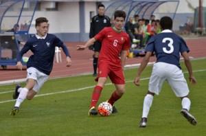 Torneo amistoso sub 16 de selecciones en Vila Real de Santo Antonio.