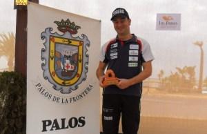 Rubén Gutiérrez, en la Travesía de Palos de La Frontera.