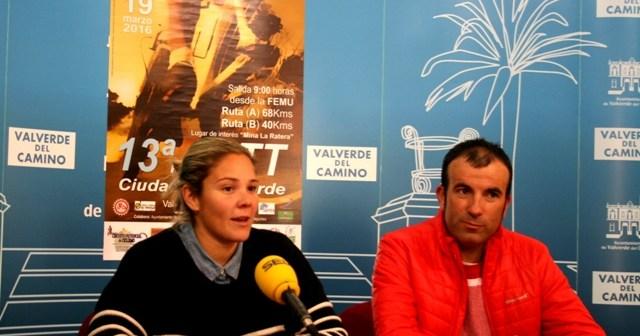 Presentación de la Ruta BTT en Valverde del Camino.
