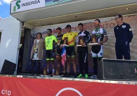 Copa España máster de ciclismo.