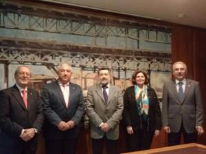 Reunión entre la Autoridad Portuaria y el Real Club Marítimo de Huelva.