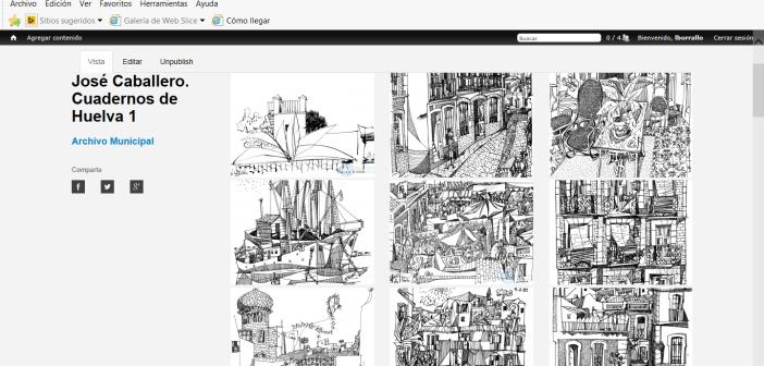 Cuadernos de Huelva en web