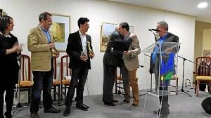 Homenaje a Santiago Osorno en Rociana