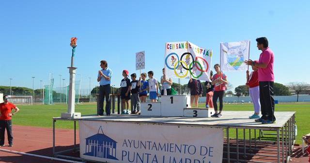 Miniolimpiadas en Punta Umbría.