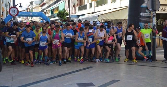 Salida Media Maratón de Punta Umbría.