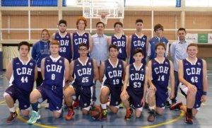 Equipo cadete del Ciudad de Huelva.