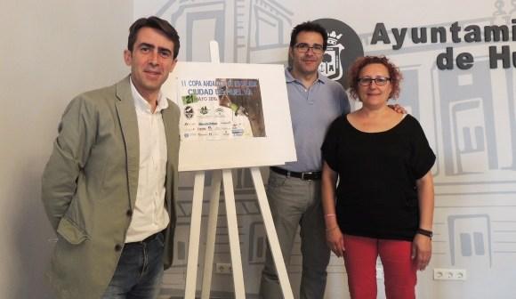 Presentación de la II Copa Andaluza de escalada.