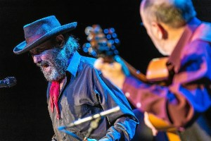 El Cabrero durante una actuación en Pamplona. (Foto: Dani Fernández)