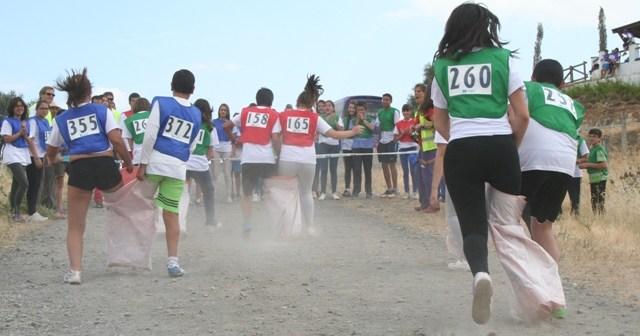 Olimpiadas Escolares de la Diputación Provincial.