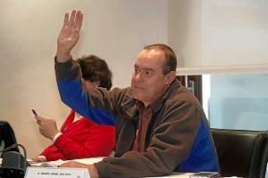 Miguel Angel Gea, portavoz de IU en Cartaya en 2011
