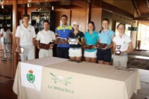 Torneo de golf en La Monacilla.