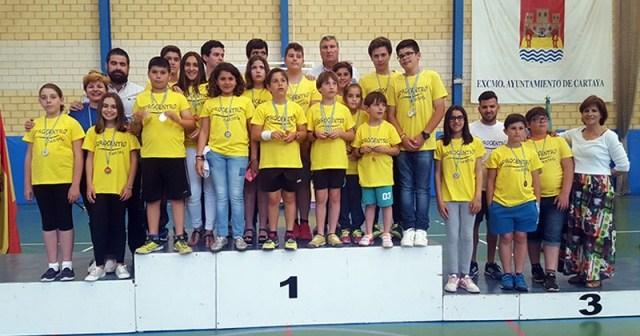 Clausura de las Escuelas Deportivas de Cartaya.