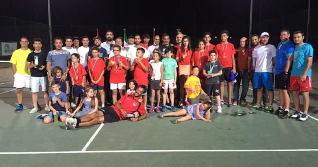Liga de tenis de Cartaya.