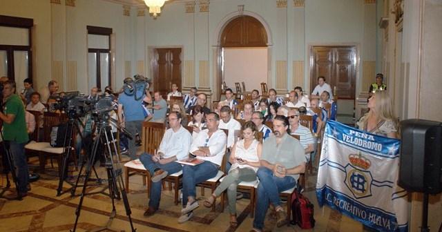 Anterior Pleno extraordinario sobre el Recreativo de Huelva en el Ayuntamiento.