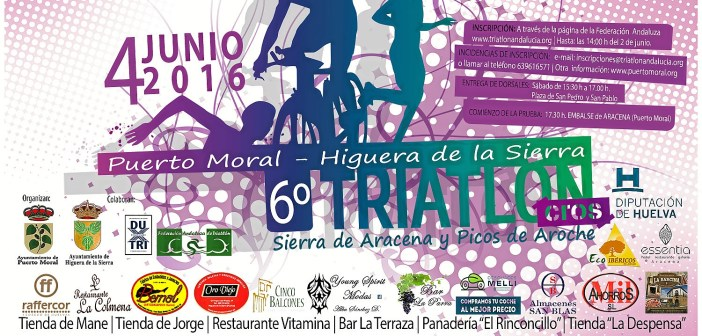 CARTEL VI TRIATLON 2016