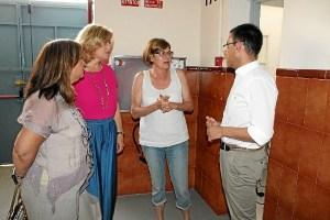 Responsables del PP se reúnen con Rosa Espada.