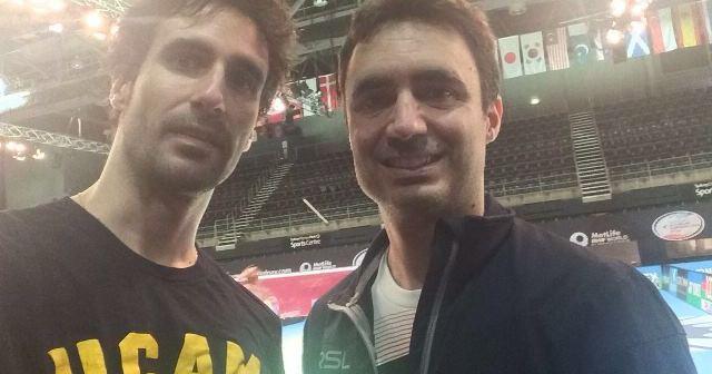 Pablo y Javier Abián.